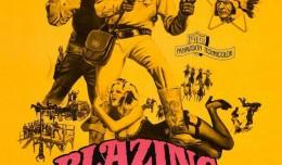 Blazing-Saddles poster yellow