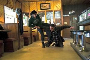 haywire fight scene