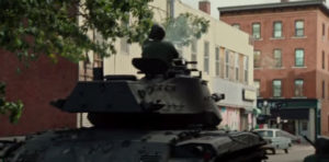 Detroit Tank Scene